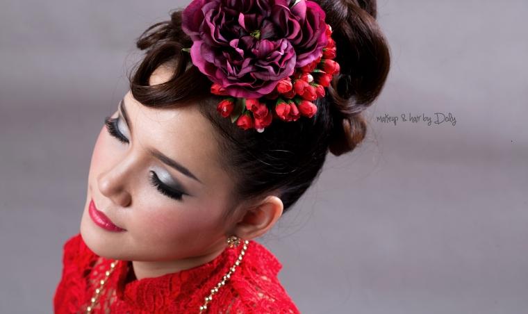 Oriental High Fashion Bridal Look