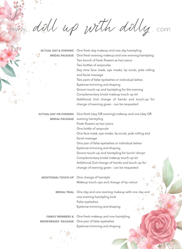 Bridal PackagesPDF